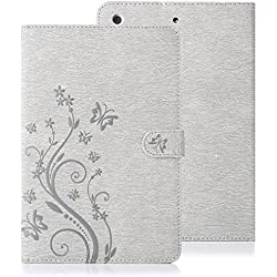 LAPOPNUT 297801 Tablet-Schutzhülle, Apple iPad Air 2, grau, Stück: 1