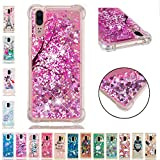 LA-Otter Coque iPhone XS Max Liquide Paillette Silicone TPU Gel Bumper Bling Housse...