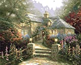 Plaid:Craft Paint Thomas Kinkade von Nummer Kits 16 X 20, die malve House