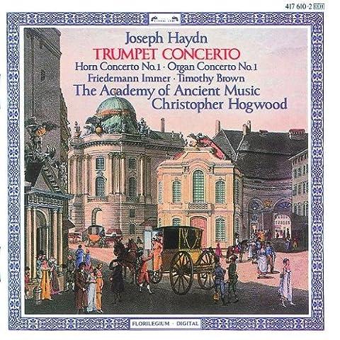 Concerti pour cor, pour trompette & pour orgue