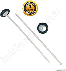 IndoSurgicals Queen Square Pattern Knee Hammer - 2 Pcs