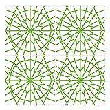 Wandkings Fliesenaufkleber 4er Set - Wähle ein Muster & Größe -