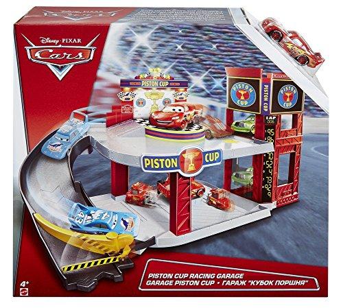 Image of Mattel DWB90 Disney Pixar Cars Piston Cup Racing Garage