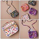 Mädchen-Schmetterlings-Blumen-sortierte Geldbeutel-Handtaschen-Griffe