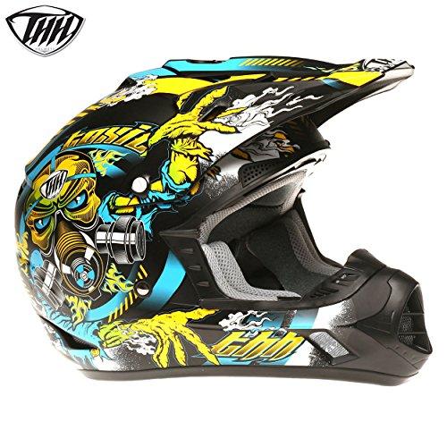 Thh tx12tóxicos Motocross legal en carretera todoterreno casco