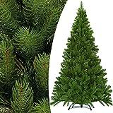 Weihnachtsbaum künstlich 140 cm 470 Spitzen mit Ständer - Tannenbaum Christbaum