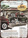 KODY HYDE Metall Poster - Lyon Whitewalls Tires - Vintage