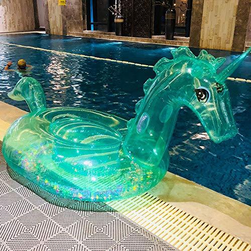 Unicornio Transparente Juguetes Inflables, Piscina Flotante De Pvc Juguetes De Agua, Juguetes Acuáticos...