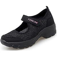 Vorgelen Sandali Sportive Donna Scarpe Basculanti Donna Mesh Scarpe Fitness Dimagranti Scarpe da Camminata Comode Scarpe…
