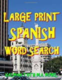 Large Print Spanish Word Search