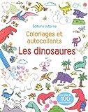 Image de Les dinosaures - Coloriages et autocollants