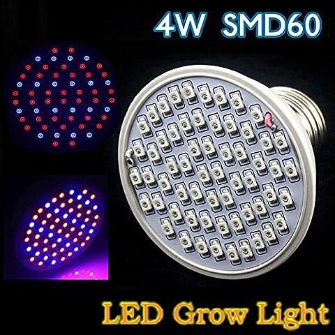 Yongse 4W E27 Garden Plant Growth lampadina LED serra Semenzale della pianta Luce