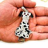 D-Click USB-Speicherstick, 4GB/8GB/16GB/32GB/64GB, cooles Design Puppy 8 GB