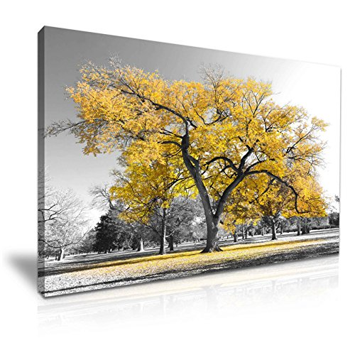 Yellow wall art for Wall decor for yellow walls