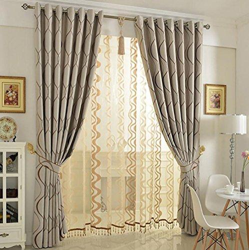 Del&way tende oscuranti per soggiorno, oscuranti termici moderni semplicità camera da letto ombreggiatura parasole 1 pezzo-160x210cm (63x83inch)