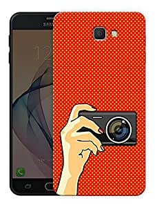 "Humor Gang camera selfie Printed Designer Mobile Back Cover For ""Samsung Galaxy On5 2016"" (3D, Matte Finish, Premium Quality, Protective Snap On Slim Hard Phone Case, Multi Color)"