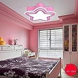 CWJ Plafoniera a soffitto a luce di cinque piani - lampada a sospensione a soffitto a soffitto a soffitto - lampada a sospensione a soffitto,Oscillazione Promise Pink-S-LED36W
