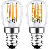 Maxsure Ampoule LED E14 2.5W Equivalent à Halogène 25W, Ampoule Frigo Led Blanc Chaud 2700K 260LM, Etanche, 360° Larges Faisc