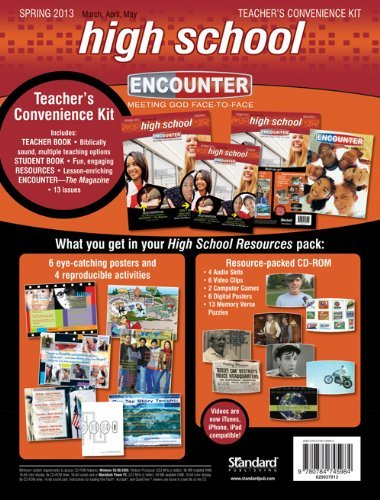 High School Teacher's Convenience Kit-Spring 2013 (Encounter Curriculum) by Standard Publishing (2013-01-14)