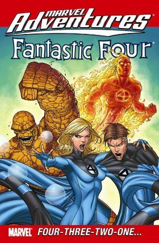 Marvel Adventures Fantastic Four: Four-Three-Two-One? by Paul Tobin (2009-08-05)