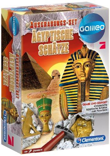 Preisvergleich Produktbild Clementoni 69319.1 - Galileo Ausgrabungsset - Entdecke Ägyptische Schätze
