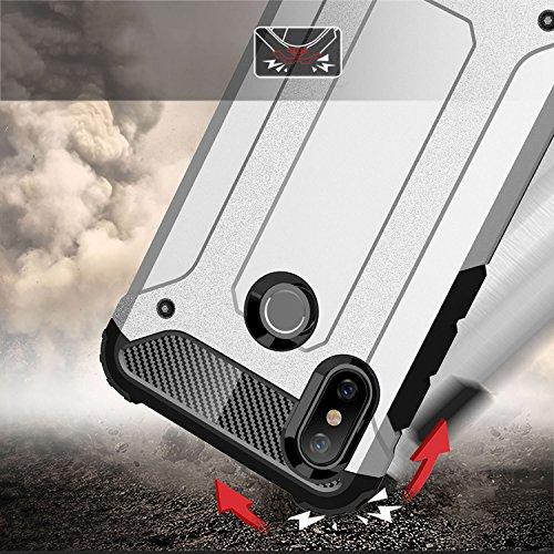 Cover Xiaomi Mi 9: Custodia per Protezione Antiurto Ultra Robusta Colore nero