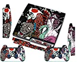 PS3 Skins Jeux PS3 Stickers Console Sony PS3 Vinly Decals for Playstation 3 Slim Système - Tsunami