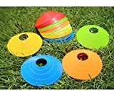 EASE 10 Fußball Platz Marker Cones Sport Running Fußball Fußball Rugby Fitness Agility Training
