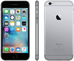 "Apple iPhone 6s, 4,7"" Display, SIM-Free, 16 GB, 2015, Space Grau (Generalüberholt)"