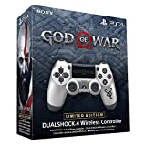 Sony DualShock 4 Wireless Controller God of War Limited Edition PS4 silber/schwarz