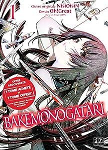 Bakemonogatari Pack découverte Tomes 1 & 2