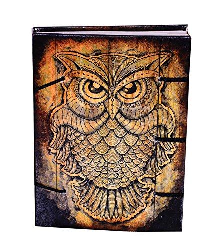 """purpledip Vintage Diario/Diario/cuaderno """"sabiduría de la selva"""": Tratado de forma natural papel recubierto en hermosamente impreso carcasa para regalo de empresa o personal Memoir (10526)"""