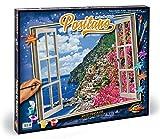 Schipper 609360724 - Malen nach Zahlen - Positano an der Amalfiküste, 50 x 60 cm