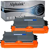 Alphaink 2 toner compatibile con Brother TN-2010 TN-2220 versione da 2.600 copie per stampanti Brother HL2230 HL2240 HL2250 H