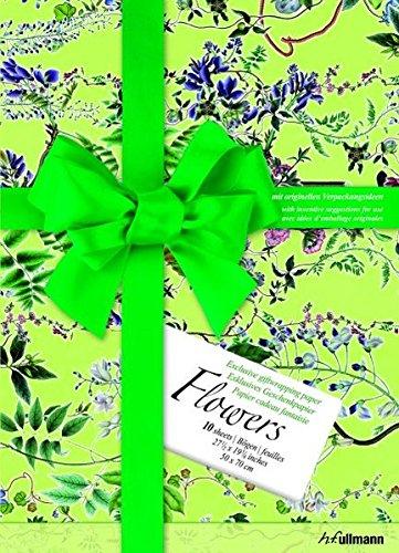 Fleurs : Papier cadeau