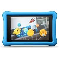 Amazon - Custodia per bambini per Fire HD 8 (tablet 8'', 7ᵃ e 8ᵃ generazione, modelli 2017 e 2018), Blu