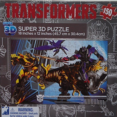 Transformers Age of Extinction Super 3D Puzzle - 150 Pieces by Transformers