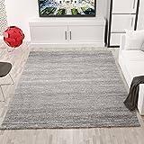 Moderner Wohnzimmer Teppich Meliert Kurzflor, OEKO TEX Zertifiziert,...