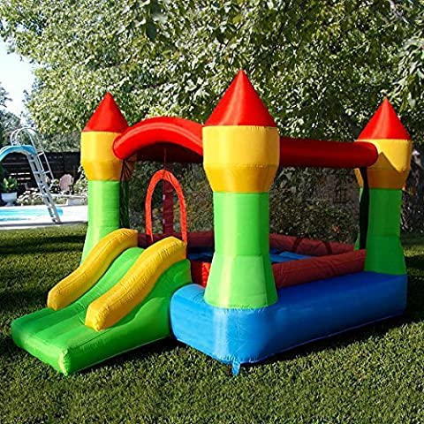 Costzon Inflatable Mighty Bounce House Castle Jumper Moonwalk Bouncer Without
