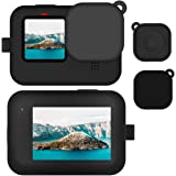 Elyco Custodia Protettiva in Silicone con Cordino per GoPro Hero 9 Black Action Camera, Custodia Protettiva in Gomma…