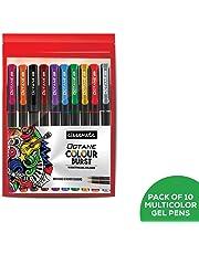 Classmate ITC Octane Colourburst Pen (Multicolour)- Pack of 10
