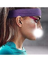 XIAOBAI Deportes Accesorios para el cabello Sudor adulto Correr Pañuelo Protector Baloncesto Gimnasio Correr Diadema, Púrpura