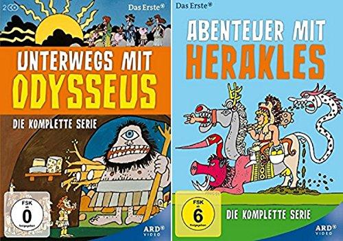 Unterwegs mit Odysseus + Abenteuer mit Herakles