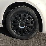 (Größe & Design wählbar) 16 Zoll Radkappen Onyx Carbon passend für fast alle Fahrzeugtypen (universal)