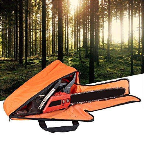 Tragbare Wasserdicht Oxford Chainsaw Aufbewahrungstasche Fall Halter Box für alle Kettensägen bis 55,9cm Bar Länge (hgj26)