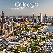 Chicago 2019 - 18-Monatskalender mit freier TravelDays-App: Original BrownTrout-Kalender