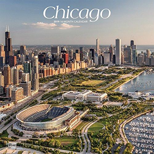 Chicago 2019 - 18-Monatskalender mit freier TravelDays-App (Wall-Kalender)