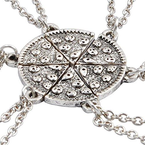 jane-stone-colliers-damitie-pour-6-pendentif-puzzle-de-pizza-best-friend-partager-couleur-argent