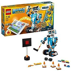 LEGO BOOST Toolbox Creativa, Kit di Robotica per Ragazzi, Modello da Costruire 5 in 1 Controllato via App con Robot… LEGO