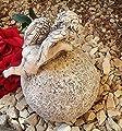 Rada Grabengel Engel m. Kugel Grabschmuck Grabdeko - in stillem Gedenken von RDI bei Du und dein Garten